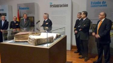 """Exposición """"Restaurando el testimonio del pasado: los Libros Generales de Galeras"""""""